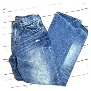American Eagle Jeans denim 30/34 relaxed worn look